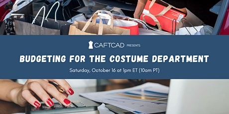 Budgeting for the Costume Department tickets