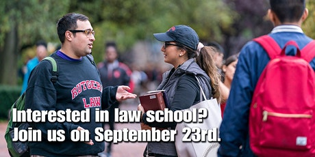 Peirce Bachelor-to- Rutgers J.D. Program Information Session tickets