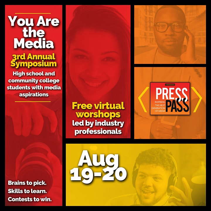 Press Pass 3: Virtual Media Conference — You Are the Media image