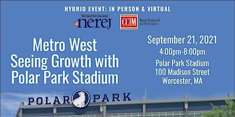 Metro West Seeing Growth with Polar Park Stadium  Virtual tickets