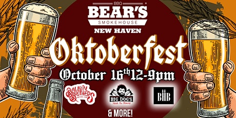 Bear's Smokehouse Oktoberfest tickets
