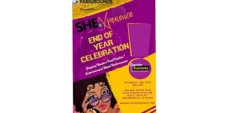 SHE. Event Indy's Year End Ubuntu Celebration - Indiana State Fair tickets