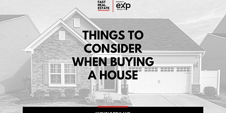 Things to Consider when Buying a House tickets