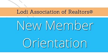 LAR New Member Orientation - MODESTO tickets