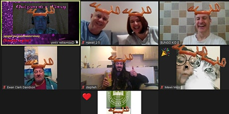 Fun Speedquizzing Live Online Pub Quiz Sundays with Quizmaster Vinny tickets