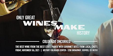 Colorado Uncorked 2021 tickets