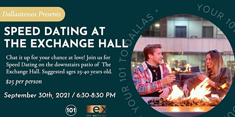 Speed Dating at The Exchange Hall tickets