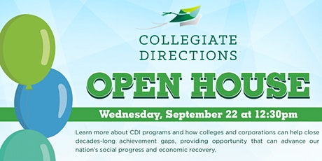 CDI Open House tickets