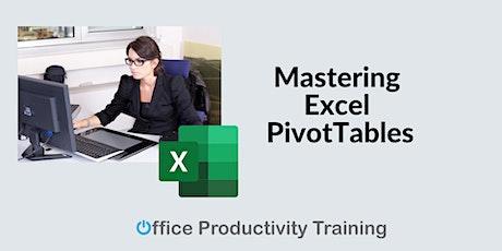 Mastering Excel PivotTables tickets