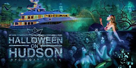 The #1 Halloween Party NYC: Friday Night Spooky Mega Yacht Cruise tickets