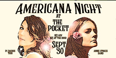 The Pocket Presents: Annie Stokes + Pi Jacobs Trio tickets