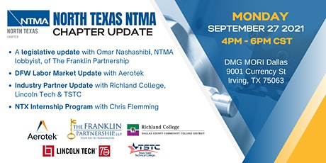 North Texas NTMA Chapter Update tickets