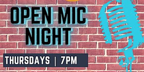 Open Mic at ImprovMANIA 7PM Thursdays tickets