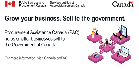 Doing Business with the Government of Canada (English Webinar) tickets