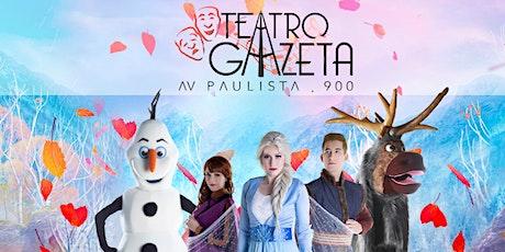 Desconto! Rainha da Neve 2 - Uma Aventura Congelante no Teatro Gazeta ingressos
