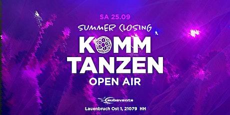 (3G) Summer Closing | Komm tanzen Open Air Tickets