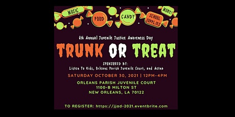6th Annual Juvenile Justice Awareness Day tickets