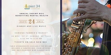 Pier 34 Annual Shrimp Boil Fundraiser tickets