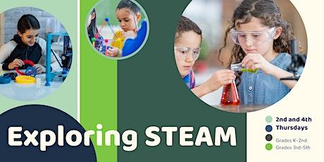 Virtual Exploring STEAM (3rd-5th Grade   September) tickets