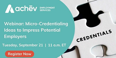 Micro-Credentialing Ideas to Impress Potential Employers tickets