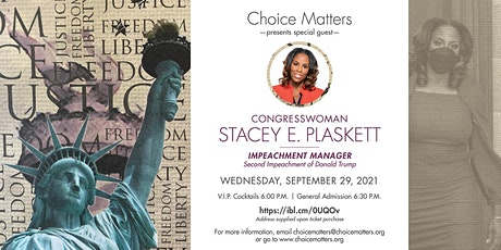 A New Civil War,  with Impeachment Manager Congresswoman Stacey Plaskett tickets
