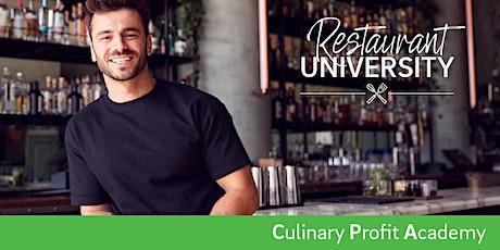 Culinary Profit Academy 2021 tickets