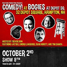 Comedy @ Bogie's at Depot Square Practicing Productions - Bogie's at Depot tickets
