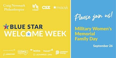 Blue Star Welcome Week Family Day at Military Women's Memorial tickets