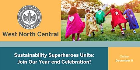 Sustainability Superheroes: USGBC WNC Year-end Celebration tickets