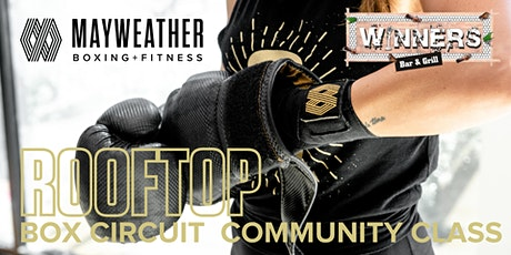 FREE Rooftop Community Class with Mayweather Boxing + Fitness tickets