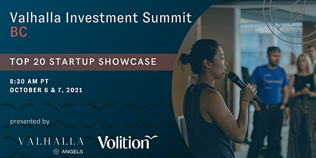 Valhalla Investment Summit BC: Top 20 Startup Showcase tickets