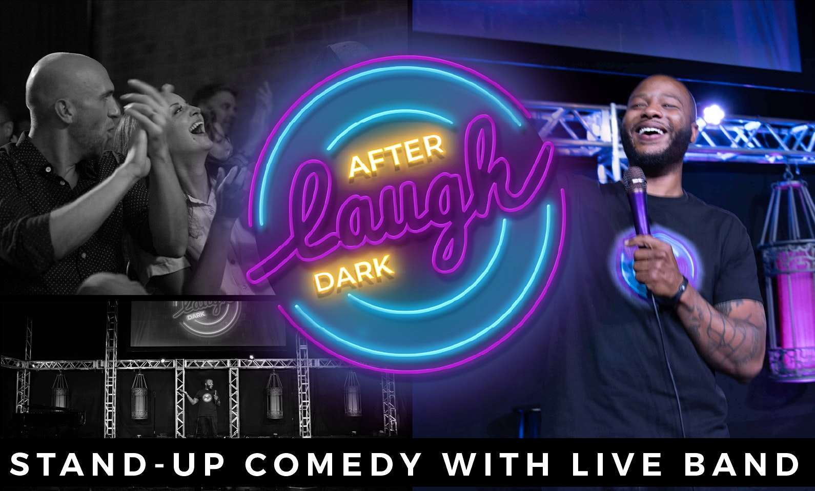 Laugh After Dark Stand-Up Comedy With Live Band