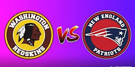 StREAMS@>!NEW ENGLAND PATRIOTS V WASHINGTON FOOTBALL TEAM NFL LIVE ON 2021 tickets