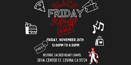 Black Friday Sale at Historic Sacred Heart Chapel tickets