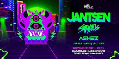 Jantsen w/ Stratus & Ashez - Charlotte, NC tickets