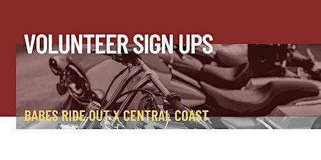 Central Coast | Volunteers tickets