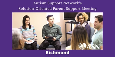 IN PERSON Solution Oriented Parent Support meeting in RICHMOND tickets