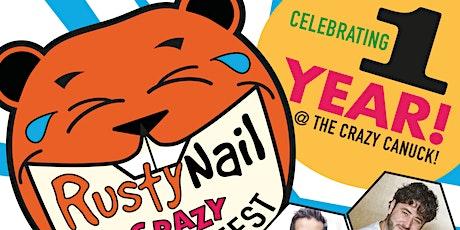 Rusty Nail Comedy's #crazycomedyfestweekend Featuring Jarrett Campbell tickets