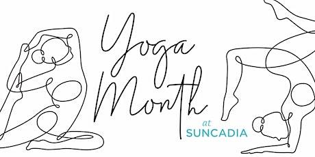 Yoga Month at Suncadia tickets