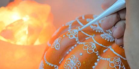Henna Inspired Pumpkin Design Workshop tickets