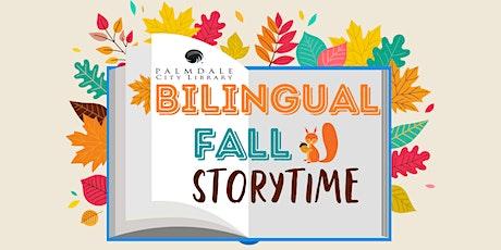 Bilingual Fall Storytime / Bilingual Cuentos en Otoño tickets