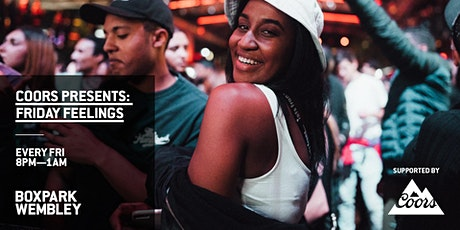 COORS PRESENTS: FRIDAY FEELINGS tickets