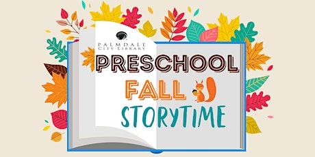 Preschool Fall Storytime tickets