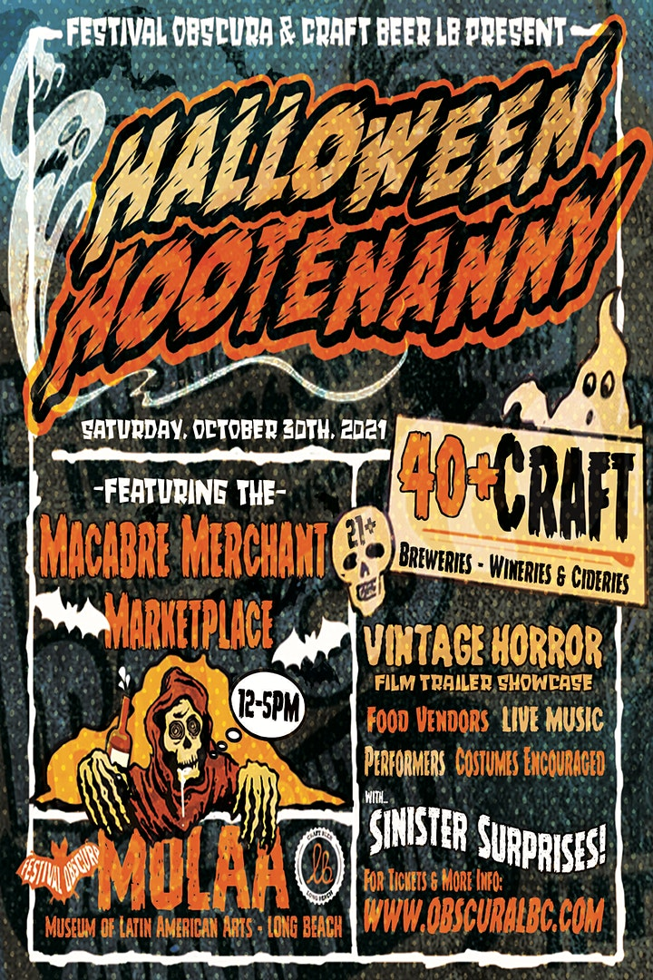 Halloween Hootenanny Craft Beer Fest image