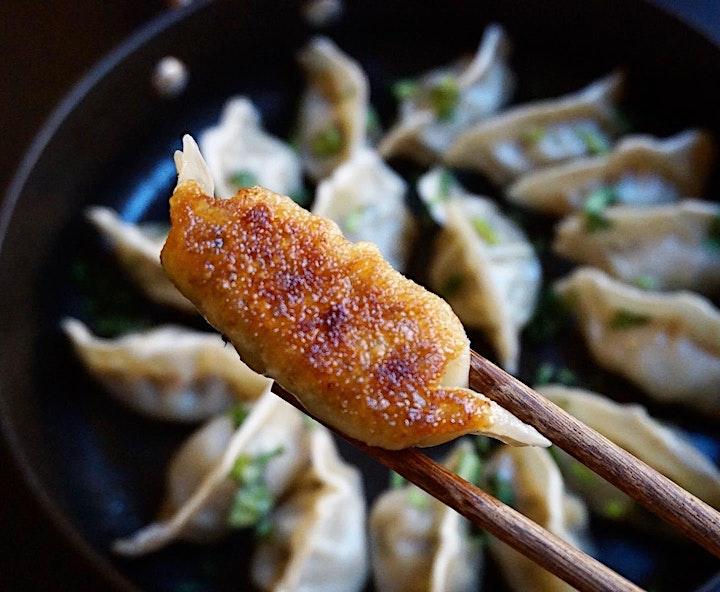 Chinese Dumplings - Virtual Cooking Classes image