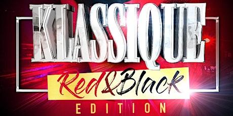 KLASSIQUE  (RED & BLACK EDITION) tickets
