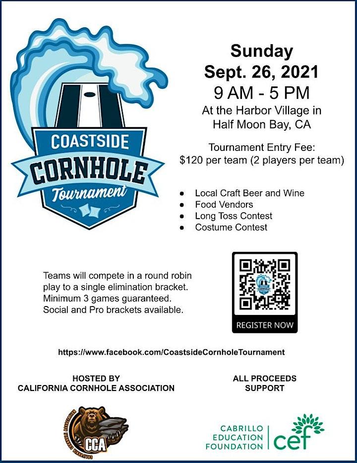 3rd Annual Coastside Cornhole Tournament image