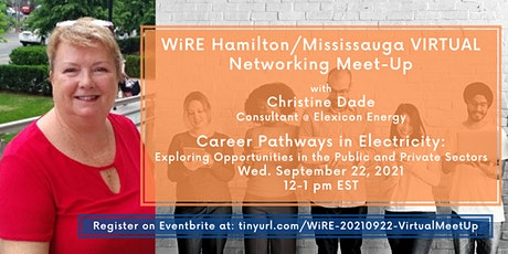 Virtual Networking WiRE Mississauga/Hamilton MeetUp: Careers in Electricity tickets
