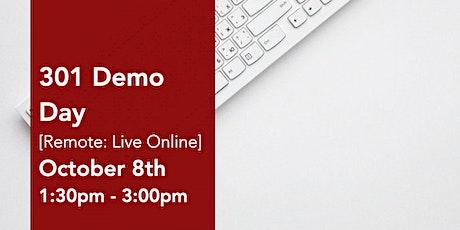 301 Virtual Demo Day Presentations tickets