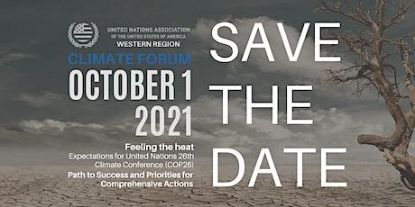 UNA-USA Western Region Climate Forum tickets